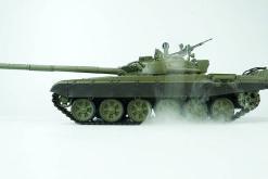 Ferngesteuerter Panzer mit Schuss Russicher T-72 Heng Long 116, Stahlgetriebe -2,4Ghz -V 6.0 -7