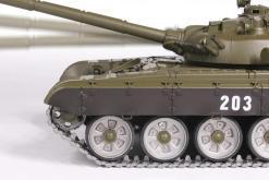 Ferngesteuerter Panzer mit Schuss Russicher T-72 Heng Long 116 , Stahlgetriebe -2,4Ghz V 6.0 -PRO 10