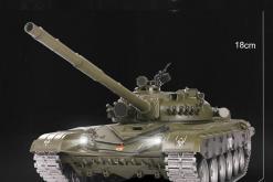 Ferngesteuerter Panzer mit Schuss Russicher T-72 Heng Long 116 , Stahlgetriebe -2,4Ghz V 6.0 -PRO 12