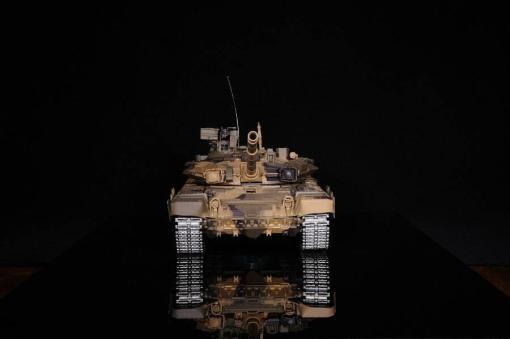 Ferngesteuerter Panzer mit Schuss Russland T90 Heng Long 1-16 mit Rauch&Sound + 2,4Ghz V6.0 -PRO 10