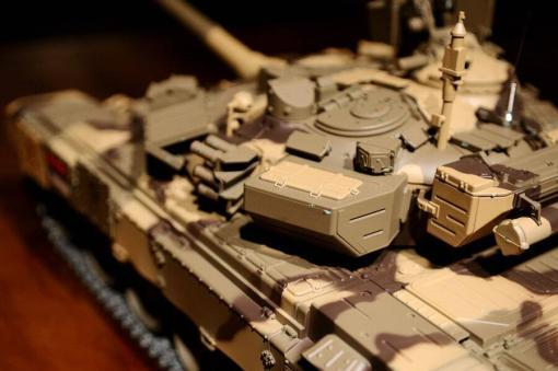 Ferngesteuerter Panzer mit Schuss Russland T90 Heng Long 1-16 mit Rauch&Sound + 2,4Ghz V6.0 -PRO 14