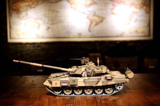 Ferngesteuerter Panzer mit Schuss Russland T90 Heng Long 1-16 mit Rauch&Sound + 2,4Ghz V6.0 -PRO 15