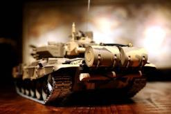 Ferngesteuerter Panzer mit Schuss Russland T90 Heng Long 1-16 mit Rauch&Sound + 2,4Ghz V6.0 -PRO 5