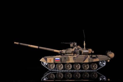 Ferngesteuerter Panzer mit Schuss Russland T90 Heng Long 1-16 mit Rauch&Sound + 2,4Ghz V6.0 -PRO 8
