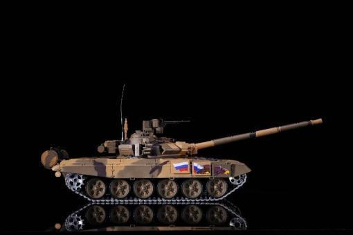 Ferngesteuerter Panzer mit Schuss Russland T90 Heng Long 1-16 mit Rauch&Sound + 2,4Ghz V6.0 -PRO 9