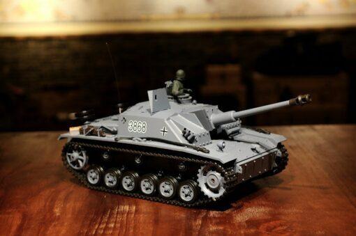 Ferngesteuerter Panzer mit Schuss Sturmgeschütz III - Stug 3 Heng Long 1-16 Rauch&Sound -2,4Ghz -PRO -1