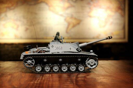 Ferngesteuerter Panzer mit Schuss Sturmgeschütz III - Stug 3 Heng Long 1-16 Rauch&Sound -2,4Ghz -PRO -2