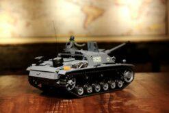 Ferngesteuerter Panzer mit Schuss Sturmgeschütz III - Stug 3 Heng Long 1-16 Rauch&Sound -2,4Ghz -PRO -3