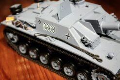 Ferngesteuerter Panzer mit Schuss Sturmgeschütz III - Stug 3 Heng Long 1-16 Rauch&Sound -2,4Ghz -PRO -5