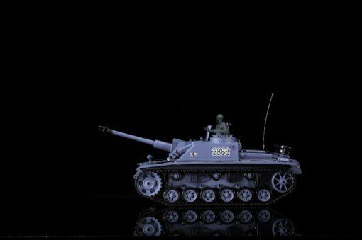 Ferngesteuerter Panzer mit Schuss Sturmgeschütz III - Stug 3 Heng Long 1-16 Rauch&Sound -2,4Ghz -PRO -6