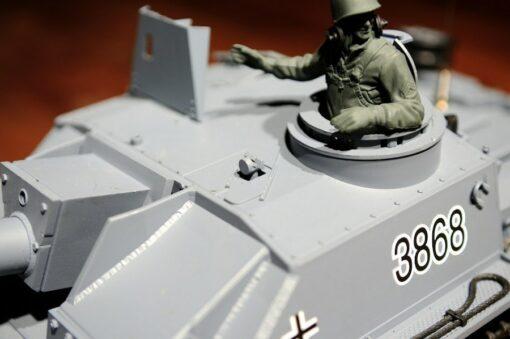 Ferngesteuerter Panzer mit Schuss Sturmgeschütz III - Stug 3 Heng Long 1-16 Rauch&Sound -2,4Ghz -PRO -8