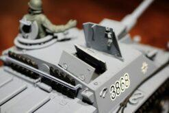 Ferngesteuerter Panzer mit Schuss Sturmgeschütz III - Stug 3 Heng Long 1-16 Rauch&Sound -2,4Ghz -PRO -9