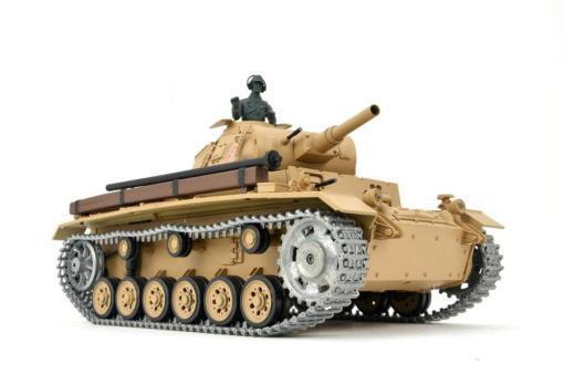 Ferngesteuerter Panzer mit Schuss Tauchpanzer III 116 Heng Long - 2,4Ghz -PRO 1