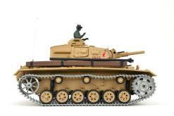 Ferngesteuerter Panzer mit Schuss Tauchpanzer III 116 Heng Long - 2,4Ghz -PRO 2