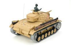 Ferngesteuerter Panzer mit Schuss Tauchpanzer III 116 Heng Long - 2,4Ghz -PRO 5