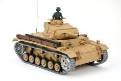 Ferngesteuerter Panzer mit Schuss Tauchpanzer III 116 Heng Long - 2,4Ghz -PRO 7