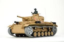 Ferngesteuerter Panzer mit Schuss Tauchpanzer III 116 Heng Long - 2,4Ghz -PRO 8