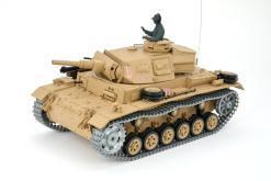 Ferngesteuerter Panzer mit Schuss Tauchpanzer III 116 Heng Long - 2,4Ghz -PRO 9