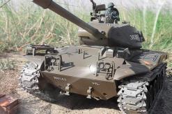Ferngesteuerter Panzer mit Schuss U.S. M41 A3 WALKER BULLDOG Heng Long 1-16 -2,4Ghz V6.0 -PRO -2