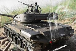 Ferngesteuerter Panzer mit Schuss U.S. M41 A3 WALKER BULLDOG Heng Long 1-16 -2,4Ghz V6.0 -PRO -4
