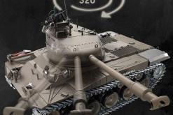 Ferngesteuerter Panzer mit Schuss U.S. M41 A3 WALKER BULLDOG Heng Long 1-16 -2,4Ghz V6.0 -PRO -5