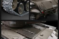 Ferngesteuerter Panzer mit Schuss U.S. M41 A3 WALKER BULLDOG Heng Long 1-16 -2,4Ghz V6.0 -PRO -9