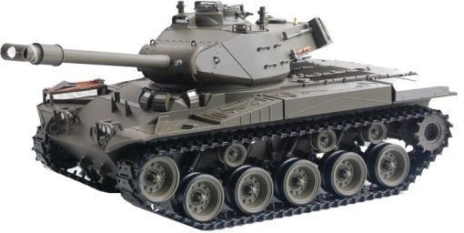 Ferngesteuerter Panzer mit Schuss U.S. M41 A3 WALKER BULLDOG Heng Long +Metallgetriebe -2,4Ghz -V 6.0 -1