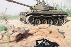 Ferngesteuerter Panzer mit Schuss U.S. M41 A3 WALKER BULLDOG Heng Long +Metallgetriebe -2,4Ghz -V 6.0 -5