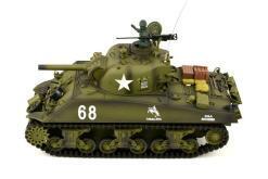Ferngesteuerter Panzer mit Schuss US M4A3 Sherman Heng Long -Rauch&Sound+2,4Ghz -PRO -3