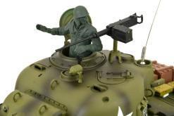 Ferngesteuerter Panzer mit Schuss US M4A3 Sherman Heng Long -Rauch&Sound+2,4Ghz -PRO -4