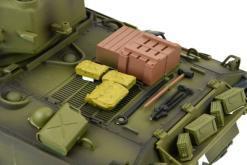 Ferngesteuerter Panzer mit Schuss US M4A3 Sherman Heng Long -Rauch&Sound+2,4Ghz -PRO -5