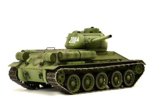 Fernsteuerter Panzer mit Schuss Russischer T-34-85 Heng Long -Rauch&Sound + 2,4Ghz - PRO -2