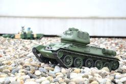 Fernsteuerter Panzer mit Schuss Russischer T-34-85 Heng Long -Rauch&Sound + 2,4Ghz - PRO -4