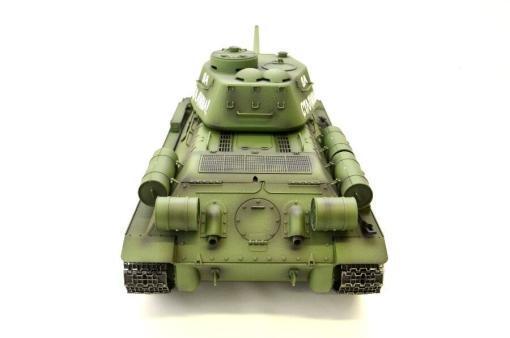 Fernsteuerter Panzer mit Schuss Russischer T-34-85 Heng Long -Rauch&Sound + 2,4Ghz - PRO -5
