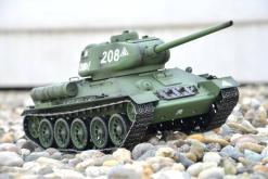 Fernsteuerter Panzer mit Schuss Russischer T-34-85 Heng Long -Rauch&Sound + 2,4Ghz - PRO -6