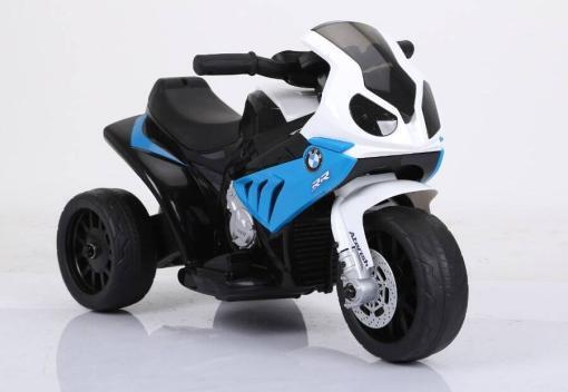 bmw kindermotorrad lizeniert s1000 - dreirad - blau -1