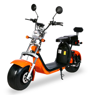 elektro scooter coco bike fat mit strassenzulassung cp01 orange -1