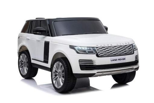 "Elektro Kinderfahrzeug ""Land Rover Range Rover"" - lizenziert - 2x 12V, 4x4- 2,4Ghz Ferngsteuert, MP3, Ledersitz+EVA -1"