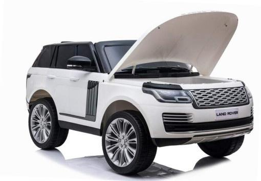 "Elektro Kinderfahrzeug ""Land Rover Range Rover"" - lizenziert - 2x 12V, 4x4- 2,4Ghz Ferngsteuert, MP3, Ledersitz+EVA -4"