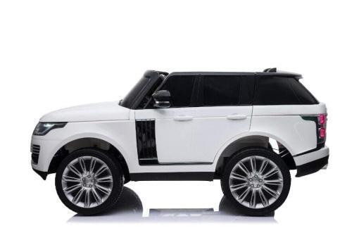 "Elektro Kinderfahrzeug ""Land Rover Range Rover"" - lizenziert - 2x 12V, 4x4- 2,4Ghz Ferngsteuert, MP3, Ledersitz+EVA -5"