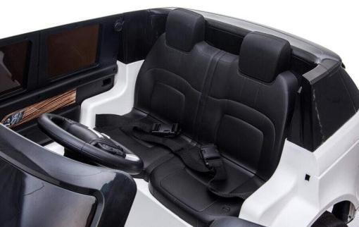 "Elektro Kinderfahrzeug ""Land Rover Range Rover"" - lizenziert - 2x 12V, 4x4- 2,4Ghz Ferngsteuert, MP3, Ledersitz+EVA -6"