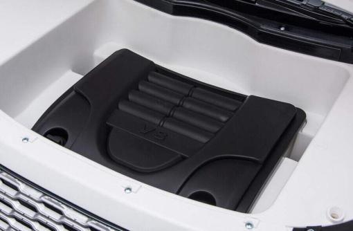 "Elektro Kinderfahrzeug ""Land Rover Range Rover"" - lizenziert - 2x 12V, 4x4- 2,4Ghz Ferngsteuert, MP3, Ledersitz+EVA -7"