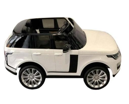 "Elektro Kinderfahrzeug ""Land Rover Range Rover"" - lizenziert - 2x 12V, 4x4- 2,4Ghz Ferngsteuert, MP3, Ledersitz+EVA -8"