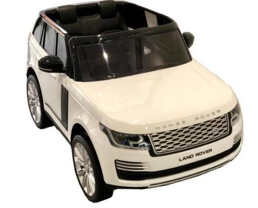 "Elektro Kinderfahrzeug ""Land Rover Range Rover"" - lizenziert - 2x 12V, 4x4- 2,4Ghz Ferngsteuert, MP3, Ledersitz+EVA -9"
