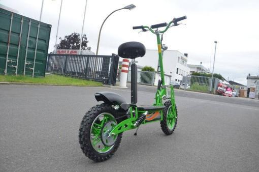 elektro scooter 36v 1000w gruen -c002g -2