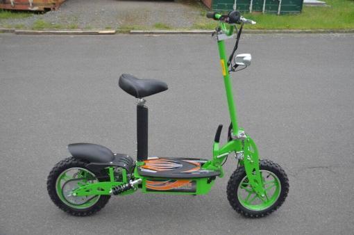 elektro scooter 36v 1000w gruen -c002g -4