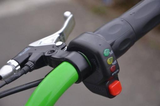 elektro scooter 36v 1000w gruen -c002g -9
