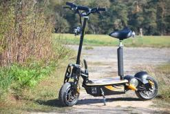 elektro scooter captain 1500w 48V mit Holzbrett -1