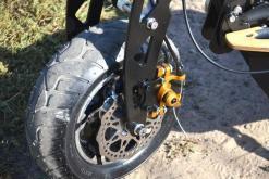 elektro scooter captain 1500w 48V mit Holzbrett -10