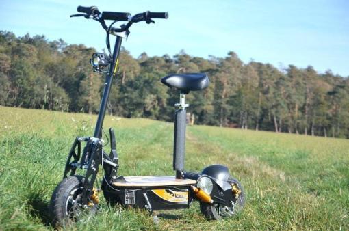 elektro scooter captain 1500w 48V mit Holzbrett -11
